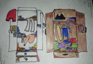 La caja de medias